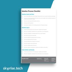 Ideation checklist