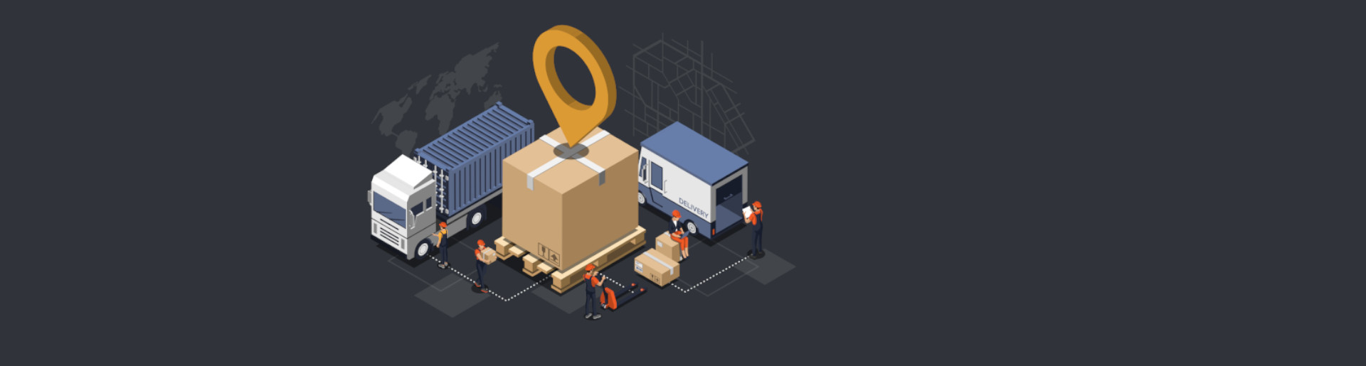 What level of visibility can you reach with IoT in supply chain?