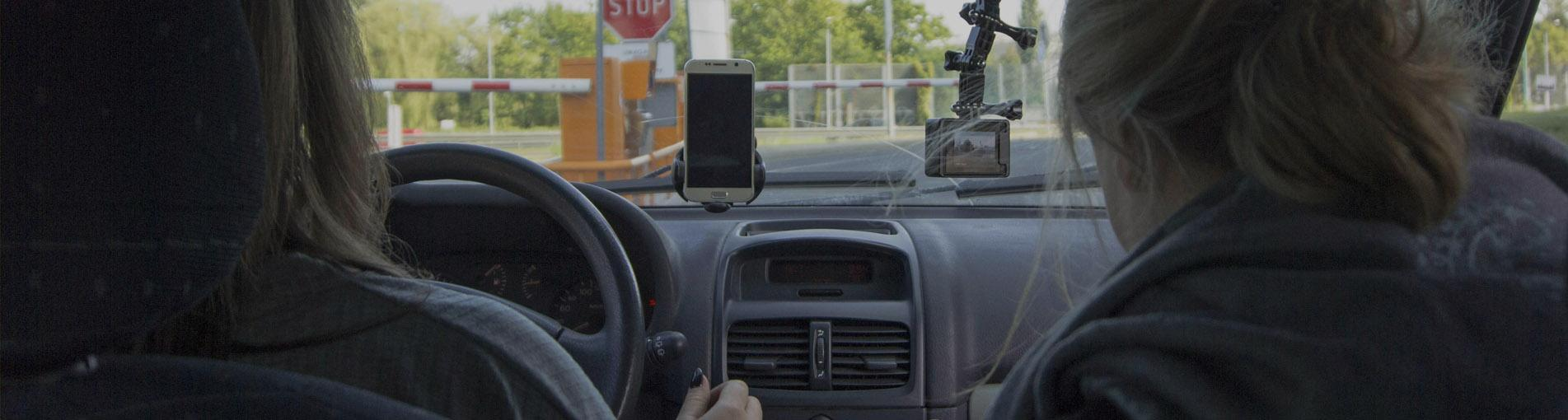 In-car user testing. How to test a mobile app with drivers?